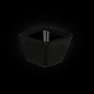 Емкость для соуса квадратная 63 мм черная «Corone»