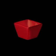 Емкость для соуса квадратная 63х63 мм красная «Corone»