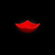 """Блюдце для соуса квадратное 75мм красное """"Corone"""""""