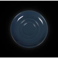 Блюдце круглое 112 мм синее «Corone»