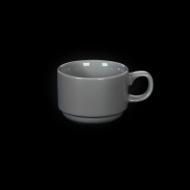 Чашка чайная 175 мл серая «Corone»