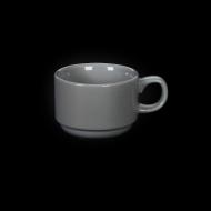 Чашка чайная 220 мл серая «Corone»