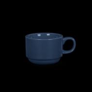 Чашка чайная 220 мл синяя «Corone»