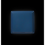 "Тарелка квадратная 240мм синяя ""Corone"""