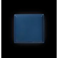 "Тарелка квадратная 275мм синяя ""Corone"""