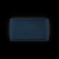 "Блюдо прямоугольное 300х172х20мм синее ""Corone"""