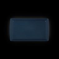 "Блюдо прямоугольное 352х230х20мм синее ""Corone"""