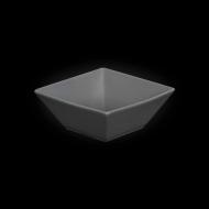"""Салатник квадратный 107х107мм 200мл серый """"Corone"""""""