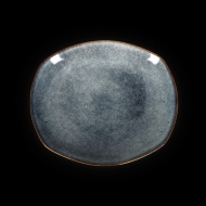 Тарелка овальная 257х225 мм синий Сorone Celeste