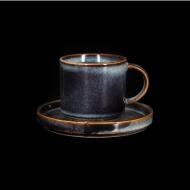 Чайная пара 185мл синий Corone Celeste