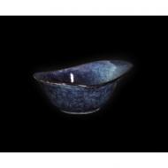 Салатник овальный 185х135мм 450мл синий Corone Celeste
