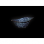 Соусник овальный 135х90мм150мл синий Corone Celeste