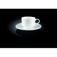 Кофейная пара 140 мл штабелир Wilmax (блюдце 996099)