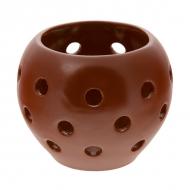 Подсвечник керам. h-115, d-120мм ELGAVA Brown