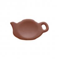 """Блюдечко керам.""""чайник"""" 11*7см ELGAVA Brown"""