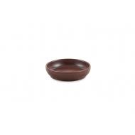 Тарелка керам. закусочная 110мм ELGAVA Brown