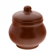 Горшок керам. 200мл д/жульена ELGAVA Brown