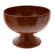Конфетница керам. 1800мл. h-16. d-21см. ELGAVA Brown