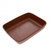 Противень керам. для запекания прям. 300*230*65мм ELGAVA Brown