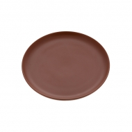 Блюдо керам. кругл. 240мм ELGAVA Brown