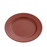 Тарелка керам. мелк. 215мм ELGAVA Brown