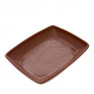 Противень керам. для запекания прям. 250*185*40мм ELGAVA Brown