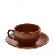 Чайная пара керам. 170мл ELGAVA Brown