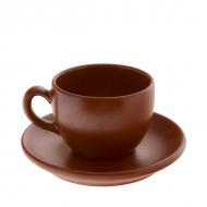 Кофейная пара керам. 100(125)мл ELGAVA Brown