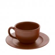 Чайная пара керам. 200мл ELGAVA Brown