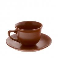 Чайная пара керам. 150мл ELGAVA Brown