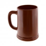Кружка керам. для пива 500мл ELGAVA Brown
