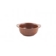 Миска керам. с ручками  500мл d-150мм ELGAVA Brown