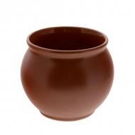 Горшок керам. для меда  350 (400)мл. ELGAVA Brown
