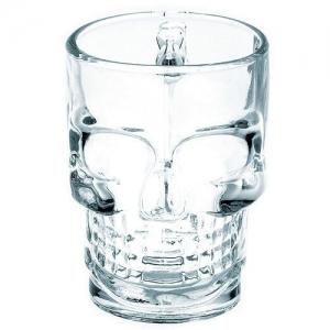 Кружка для пива 0,5 л. d=95, h=130 мм Череп (D10005-1) /6/24/