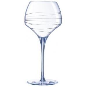 Бокал для вина 550 мл. с лазер. рисунком Опен ап /4/16/