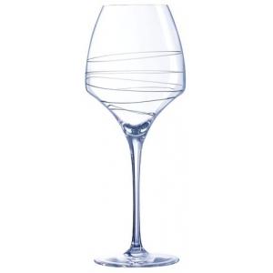 Бокал для вина 400 мл. с лазер. рисунком Опен ап /4/16/