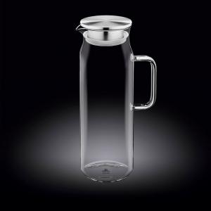 Кувшин 1,5 л с крышкой + сетка нерж Thermo Glass /1/18/