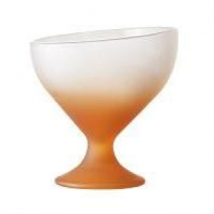 Креманка 360 мл. d=118, h=128 мм матовая оранжевая Калифорния /6/
