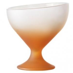 Креманка 230 мл. d=102, h=110 мм матовая оранжевая Калифорния /6/