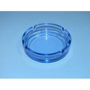 Пепельница d=14.5 см. голубая (прозрачная )