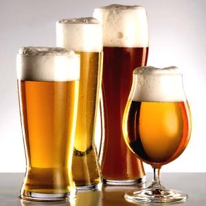 Стаканы и кружки для пива