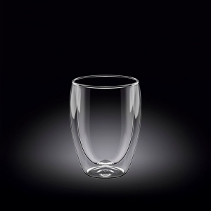 Стакан 200 мл d=65 мм. с двойными стенками Thermo Glass Wilmax /6/72/