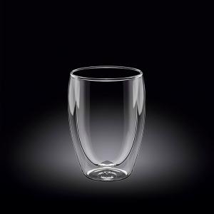 Стакан 250 мл. с двойными стенками Thermo Glass Wilmax /1/60/