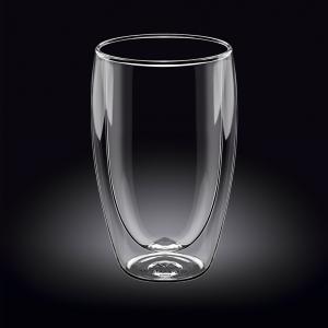 Хайбол 550 мл. с двойными стенками Thermo Glass Wilmax /1/48/