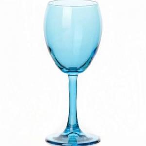 Бокал для вина 240 мл. d=73, h=175 мм. голубой Энжой Б /12/720/