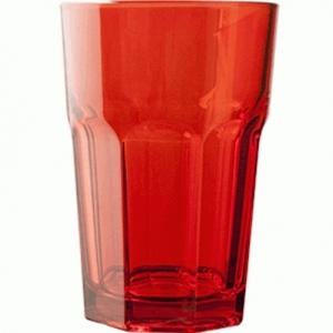 Хайбол 360 мл. d=83, h=122 мм красный закален. Энджой Б /12/