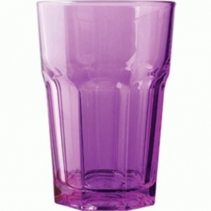 Хайбол 360 мл. d=83, h=122 мм фиолетовый закален. Энджой Б /12/