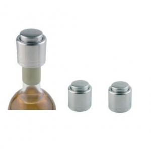 Пробка для вина d=4,3 см. h=4,5 см. нерж. набор 2 шт. APS