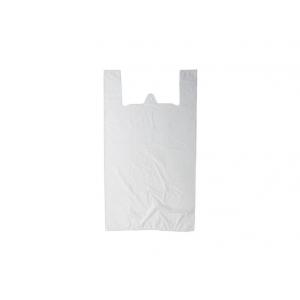 Пакет майка 40+20*70 см. 17 мкм белый 100 шт/уп /1/ Z