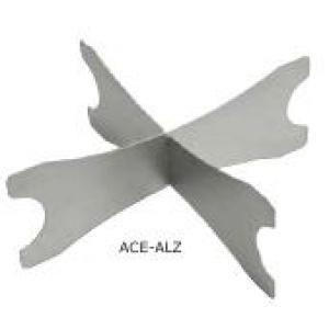 Подставка для подносов для пиццы h=14 см. алюм. Gimetal /1/